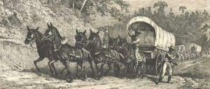 Wagon Train on Mullen Road