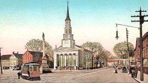Peabody Square in 1906
