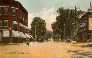 Reading, Massachusetts, early 1900s