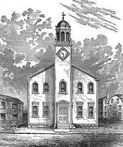 Salem's First Meeting House