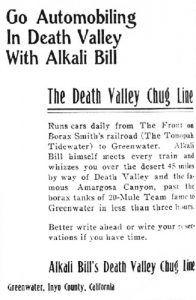 Alkali Bill Ad