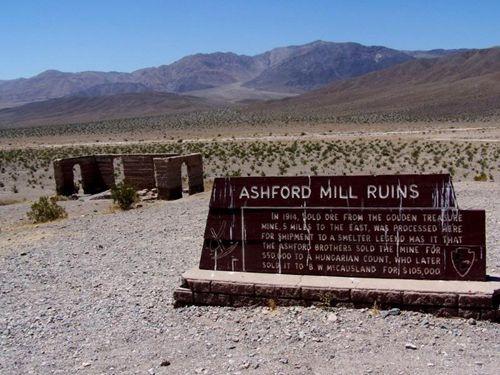 Ashford Mill Ruins, Death Valley, California