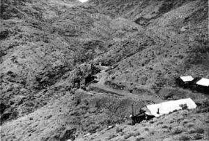 The Ashford Mine, Death Valley, California