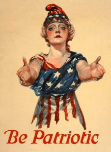 Be patriotic, 1918, Paul Stahr