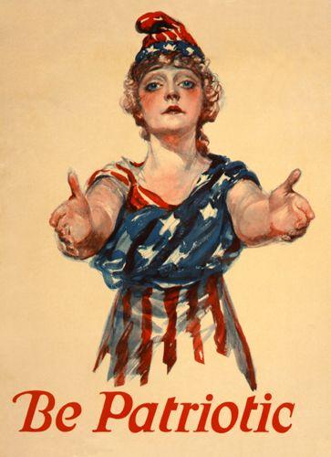 Be patriotic, 1918, Paul Stahr