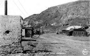 Calico, California 1931
