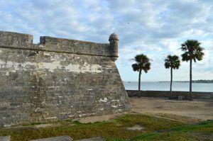 Castillo San Marcos outer wall