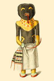 Chakwaina Kachina Dolls of the Tusayan Indians 1894