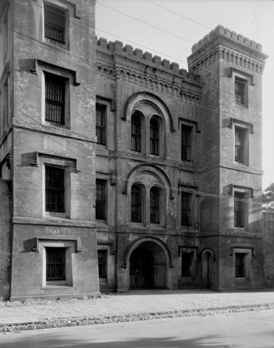 Old Charleston Jail in 1937, Frances B. Johnston