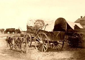 A Civil War Wagon in 1865