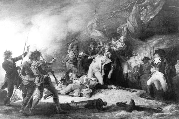Death of General Montgomery