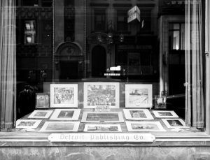 Detroit Publishing Company window, New York City