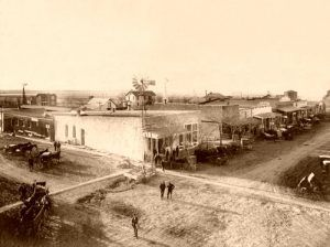 Dodge City in the late 1800's