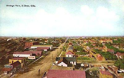 El Reno, Oklahoma Vintage Postcard