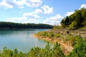 Ferry Landing on the Cumberland River, Tennessee