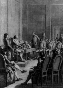 First Continental Congress, September 1774, in Philadelphia, Pennsylvania