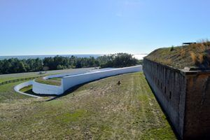 Bateria San Antonio at Fort Barrancas, Florida
