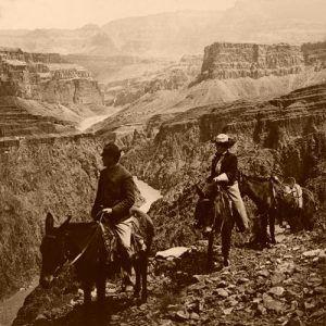 Grand View Trail, Grand Canyon, 1906