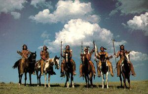 Indians on Horses