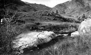 Manitou Spring in 1870