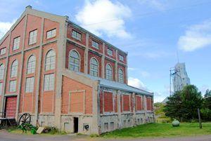 Quincy Mine Hoist Building