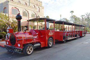 St. Augustine, FL - Red Train Trolley