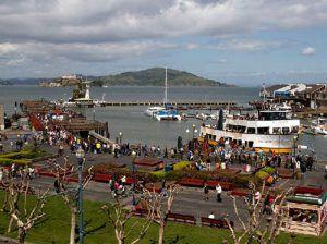 Fisherman's Wharf and San Francisco Bay