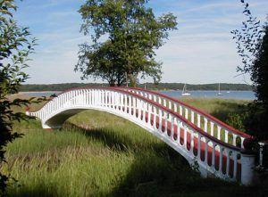 Japanese bridge Shelter Island, New York