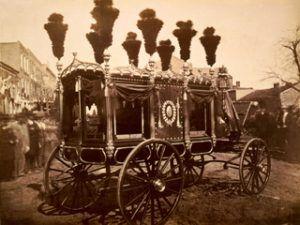 Springfield Hearse Lincoln FA Fassett 1865