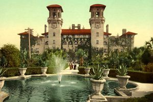 The Alcazar Hotel is now the Lightner Museum in St. Augustine, Florida