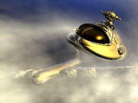 UFO by By KCE Gleghorn, courtesy Digital Artworks