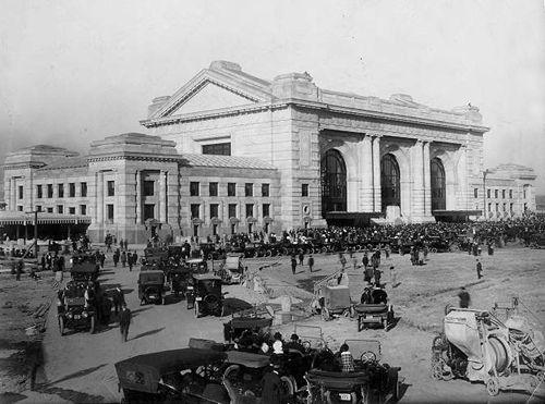 Union Station, Kansas City, Missouri, 1914