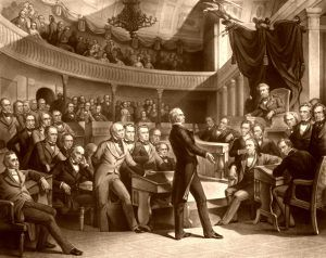 The Compromise of 1850 is reached in the United States Senate