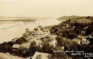White Cloud, Kansas in the 1800s