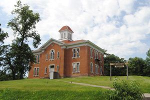 The White Cloud School is on the National Register & now serves as a museum