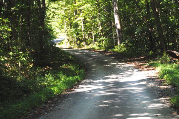 Wilderness Road north of London, Kentucky