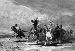 Iindians on horses