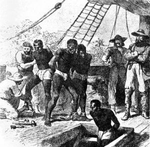 Slaves were brought to Virginia in 1619.