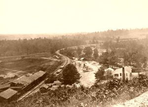 Altoona Pass, Georgia about 1863
