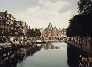 Amsterdam in about 1890