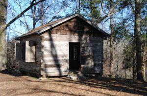Bayou Pierre Presbyterian Church near Port Gibson, Mississippi