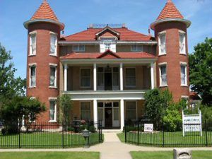 Belvidere Mansion, Claremore, Oklahoma