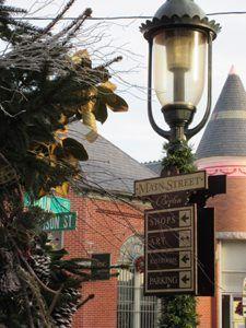 Berlin, Maryland Signpost
