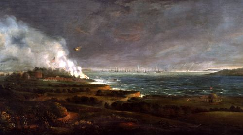 Fort McHenry bombarded