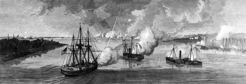 Bombardment of Port Hudson, 1863