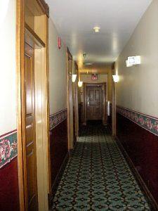 Bullock Hotel Hallway,