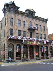 The Bullock Hotel today, July, 2006, Kathy Weiser.