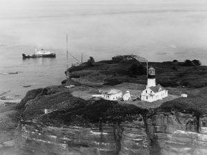 Entrance to the Strait of Juan de Fuca