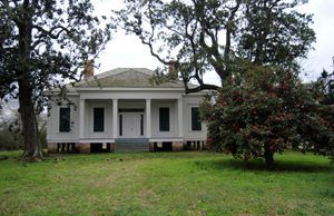 The Coker House east of Edwards, MS was utilized as a hospital after the Battle of Champion Hill.