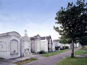 Tombs at the Cities of the Dead, New Orleans, Louisiana
